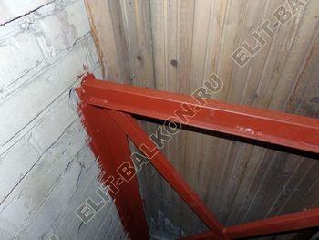 osteklenie balkona PVH s vynosom ukreplenie parapeta 8 387x291 - Фото остекления балкона № 72