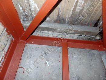osteklenie balkona PVH s vynosom ukreplenie parapeta 9 387x291 - Фото остекления балкона № 72