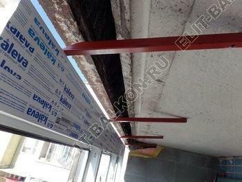 osteklenie dvuh lodzhij PVH s montazhom kryshi 14 387x291 - Фото остекления балконного блока № 70