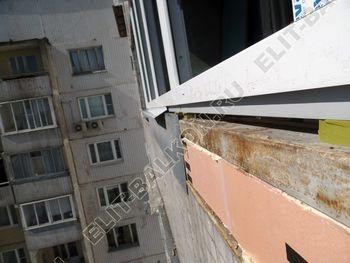 osteklenie dvuh lodzhij PVH s montazhom kryshi 20 387x291 - Фото остекления балконного блока № 70