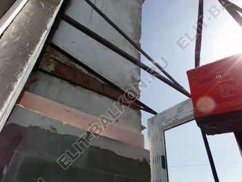 osteklenie dvuh lodzhij PVH s montazhom kryshi 22 387x291 - Фото остекления балконного блока № 70