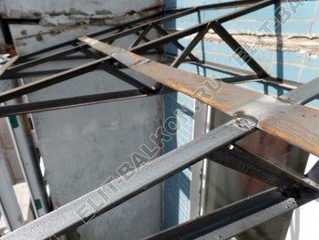 osteklenie dvuh lodzhij PVH s montazhom kryshi 27 387x291 - Фото остекления балконного блока № 70