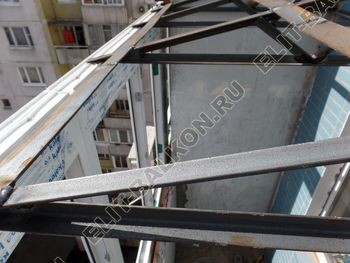 osteklenie dvuh lodzhij PVH s montazhom kryshi 28 387x291 - Фото остекления балконного блока № 70