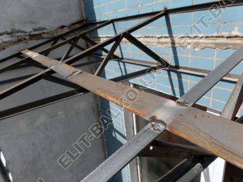 osteklenie dvuh lodzhij PVH s montazhom kryshi 29 387x291 - Фото остекления балконного блока № 70