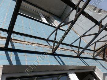 osteklenie dvuh lodzhij PVH s montazhom kryshi 32 387x291 - Фото остекления балконного блока № 70
