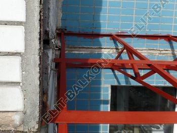 osteklenie dvuh lodzhij PVH s montazhom kryshi 35 387x291 - Фото остекления балконного блока № 70
