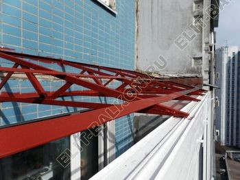 osteklenie dvuh lodzhij PVH s montazhom kryshi 36 387x291 - Фото остекления балконного блока № 70