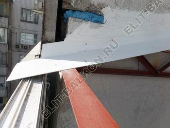 osteklenie dvuh lodzhij PVH s montazhom kryshi 37 387x291 - Фото остекления балконного блока № 70