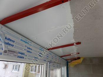 osteklenie dvuh lodzhij PVH s montazhom kryshi 39 387x291 - Фото остекления балконного блока № 70