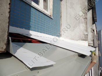 osteklenie dvuh lodzhij PVH s montazhom kryshi 40 387x291 - Фото остекления балконного блока № 70
