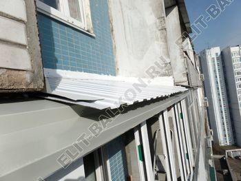 osteklenie dvuh lodzhij PVH s montazhom kryshi 41 387x291 - Фото остекления балконного блока № 70