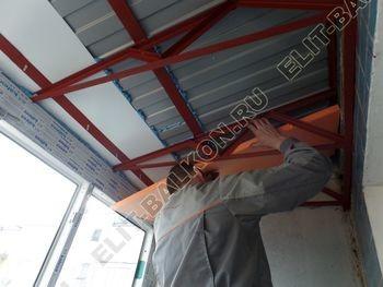 osteklenie dvuh lodzhij PVH s montazhom kryshi 42 387x291 - Фото остекления балконного блока № 70