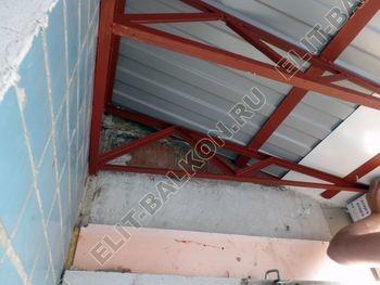 osteklenie dvuh lodzhij PVH s montazhom kryshi 43 387x291 - Фото остекления балконного блока № 70