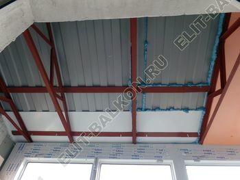 osteklenie dvuh lodzhij PVH s montazhom kryshi 44 387x291 - Фото остекления балконного блока № 70