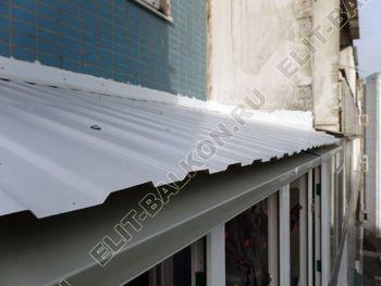 osteklenie dvuh lodzhij PVH s montazhom kryshi 45 387x291 - Фото остекления балконного блока № 70