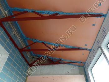 osteklenie dvuh lodzhij PVH s montazhom kryshi 47 387x291 - Фото остекления балконного блока № 70