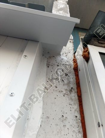 osteklenie dvuh lodzhij PVH s montazhom kryshi 48 387x291 - Фото остекления балконного блока № 70