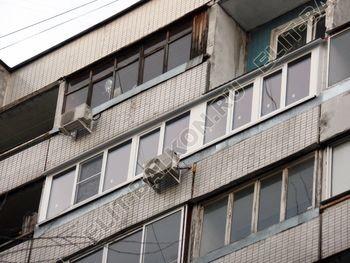 osteklenie dvuh lodzhij PVH s montazhom kryshi 50 387x291 - Фото остекления балконного блока № 70