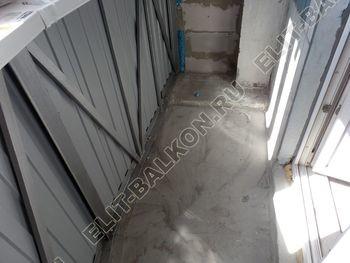 osteklenie lodzhii PVH montazh novogo parapeta 6 387x291 - Фото остекления балкона № 63