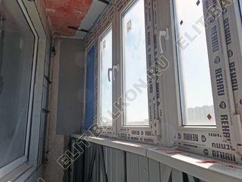 osteklenie lodzhii PVH montazh novogo parapeta 9 387x291 - Фото остекления балкона № 63