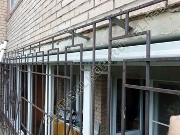 osteklenie lodzhii na pervom etazhe 11 387x291 - Фото остекления балкона № 66