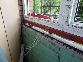 osteklenie lodzhii na pervom etazhe 12 387x291 - Фото остекления балкона № 66
