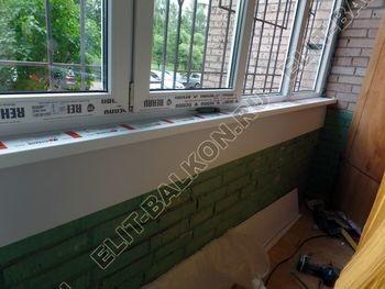 osteklenie lodzhii na pervom etazhe 16 387x291 - Фото остекления балкона № 66