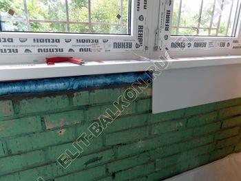 osteklenie lodzhii na pervom etazhe 17 387x291 - Фото остекления балкона № 66