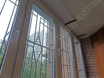 osteklenie lodzhii na pervom etazhe 22 387x291 - Фото остекления балкона № 66