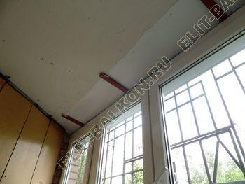 osteklenie lodzhii na pervom etazhe 30 387x291 - Фото остекления балкона № 66