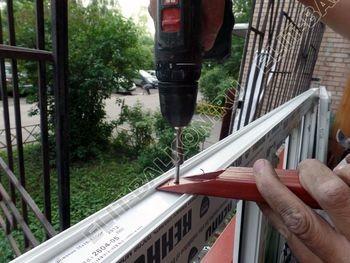 osteklenie lodzhii na pervom etazhe 6 387x291 - Фото остекления балкона № 66