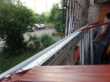 osteklenie lodzhii na pervom etazhe 7 387x291 - Фото остекления балкона № 66