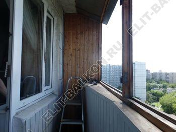 osteklenie lodzhii s vynosom aljuminiem vnutrennjaja otdelka 1 387x291 - Фото остекления балкона № 61