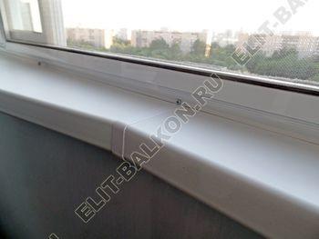 osteklenie lodzhii s vynosom aljuminiem vnutrennjaja otdelka 10 387x291 - Фото остекления балкона № 61