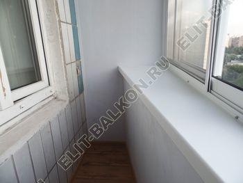 osteklenie lodzhii s vynosom aljuminiem vnutrennjaja otdelka 11 387x291 - Фото остекления балкона № 61
