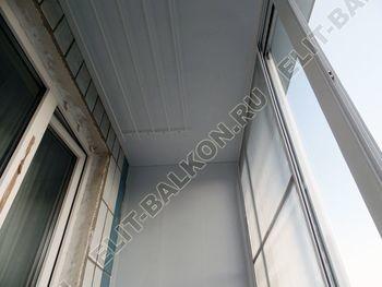 osteklenie lodzhii s vynosom aljuminiem vnutrennjaja otdelka 12 387x291 - Фото остекления балкона № 61