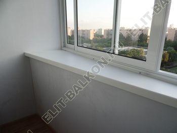 osteklenie lodzhii s vynosom aljuminiem vnutrennjaja otdelka 13 387x291 - Фото остекления балкона № 61