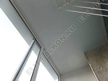 osteklenie lodzhii s vynosom aljuminiem vnutrennjaja otdelka 7 387x291 - Фото остекления балкона № 61
