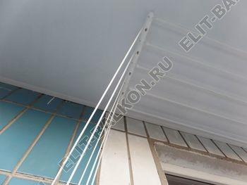 osteklenie lodzhii s vynosom aljuminiem vnutrennjaja otdelka 8 387x291 - Фото остекления балкона № 61