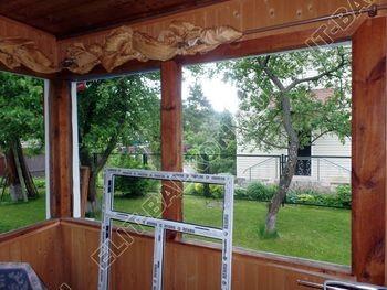 Фото остекления балкона № 62