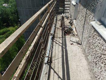 ukreplenie balkona vneshnjaja otdelka balkona 1 387x291 - Фото остекления балкона № 65