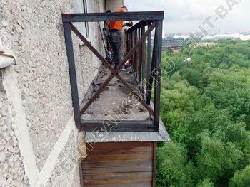 ukreplenie balkona vneshnjaja otdelka balkona 11 387x291 - Фото остекления балкона № 65