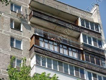 ukreplenie balkona vneshnjaja otdelka balkona 2 387x291 - Фото остекления балкона № 65