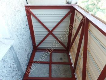 ukreplenie balkona vneshnjaja otdelka balkona 29 387x291 - Фото остекления балкона № 65