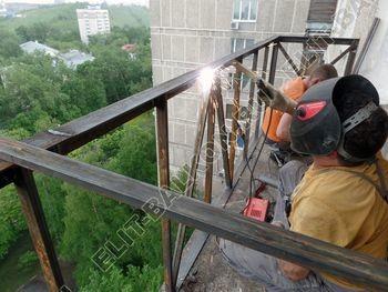 ukreplenie balkona vneshnjaja otdelka balkona 5 387x291 - Фото остекления балкона № 65