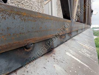 ukreplenie balkona vneshnjaja otdelka balkona 7 387x291 - Фото остекления балкона № 65