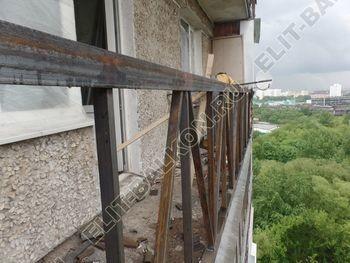 ukreplenie balkona vneshnjaja otdelka balkona 8 387x291 - Фото остекления балкона № 65