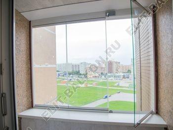 bezramnoe osteklenie balkona 2 1 387x291 - Фото остекления балкона № 74