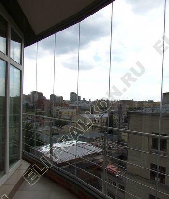 bezramnoe osteklenie balkona ZhK mahaon 3 387x291 - Безрамное остекление балконов