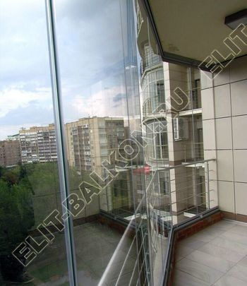 bezramnoe osteklenie balkona ZhK mahaon 4 387x291 - Безрамное остекление балконов